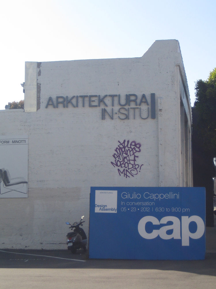 Arkitektura gallery in San Francisco, California