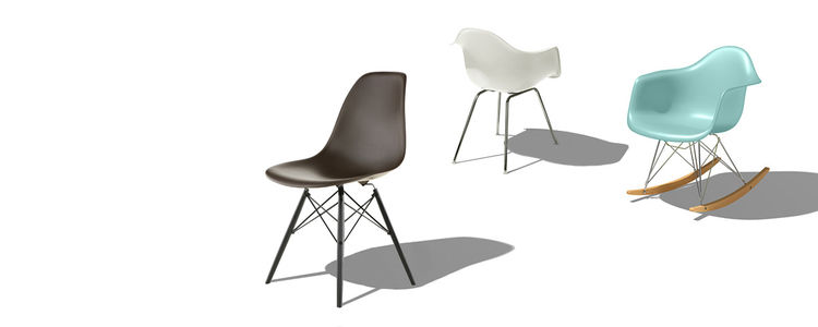 Shell Chair by Charles and Ray Eames