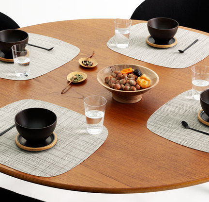 modern placemats by tabletop company Chilewich