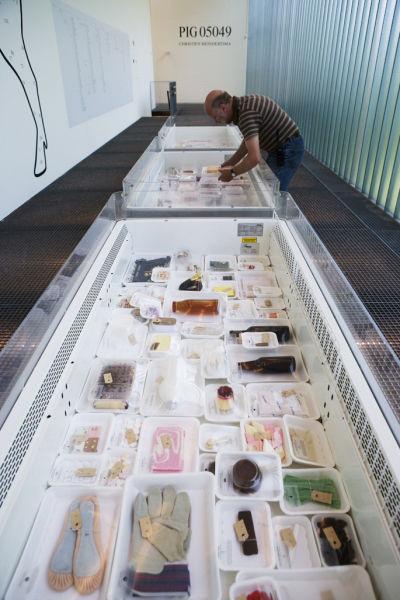PIG exhibition by Dutch designer Christien Meindertsma
