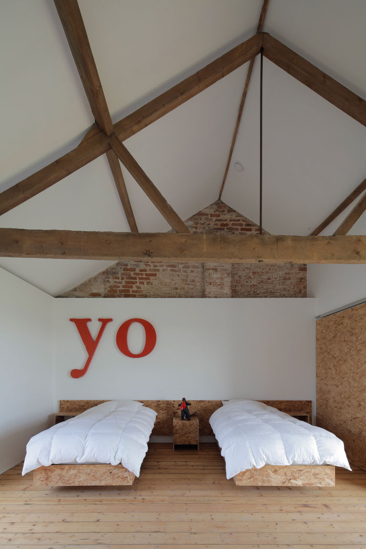 extended ochre barn bedroom OSP furniture