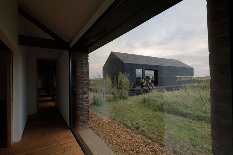 norfolk, england, barn, modern, farm, house