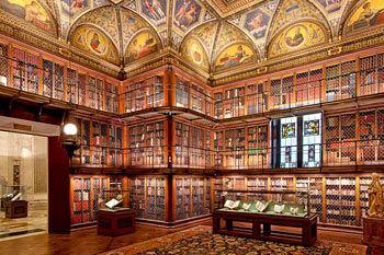 Morgan Library interior