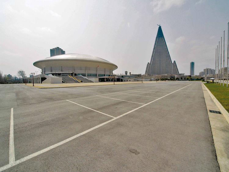 Ryugyong Jong Ju Yong Indoor Stadium
