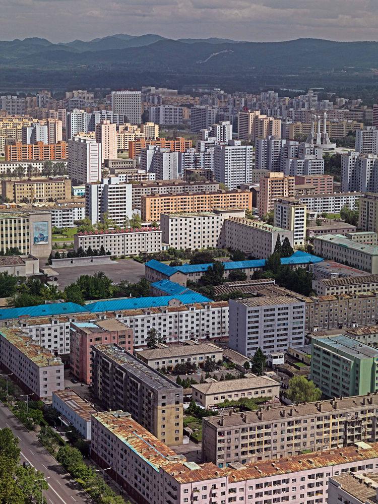 Pyongyang, North Korea skyline