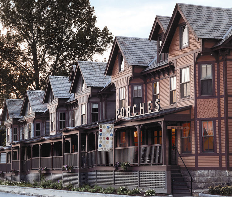 Porhces Inn in North Adams, Massachusetts