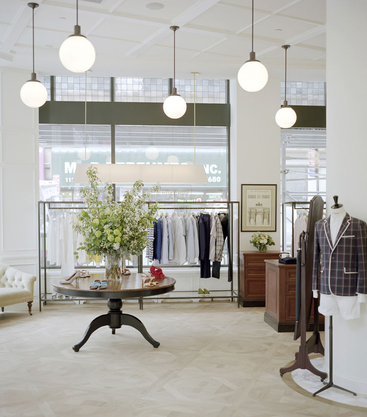 Maison Kitsuné store at NoMad Hotel in New York