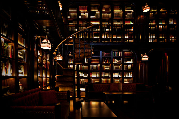 NoMad Hotel Library