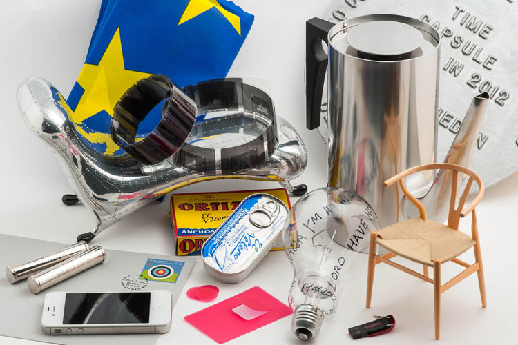 London Design Museum Time Capsule Objects