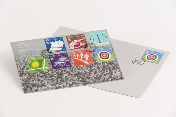 Isle of Man, London 2012 Olympic Games Stamps Paul Smith