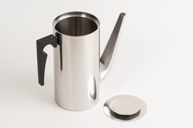 Cylinder Line Coffee Pot designed by Arne Jacobsen