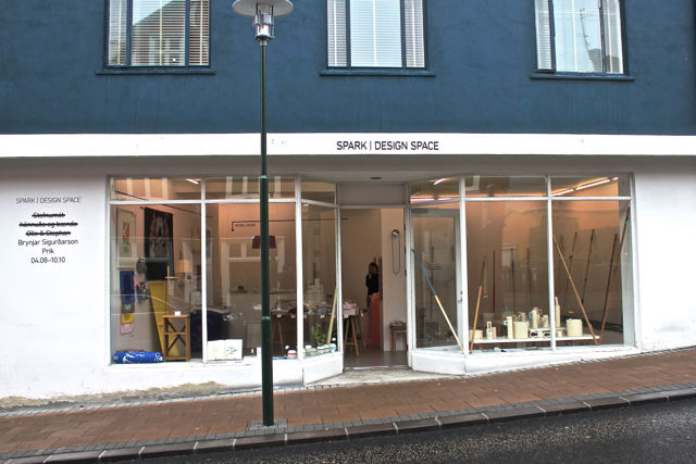 Spark Design Space in downtown Reykjavik