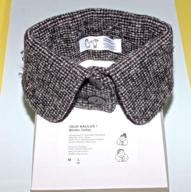 Detachable collar by Talvi Kaulus