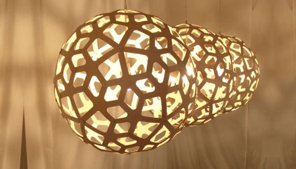 Lighting by David Trubridge