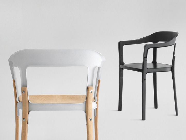 Steelwood Chair by Ronan and Erwan Bouroullec