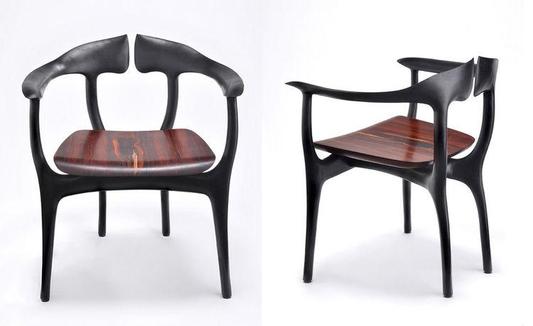 Swallowtail chair by Brian Fireman