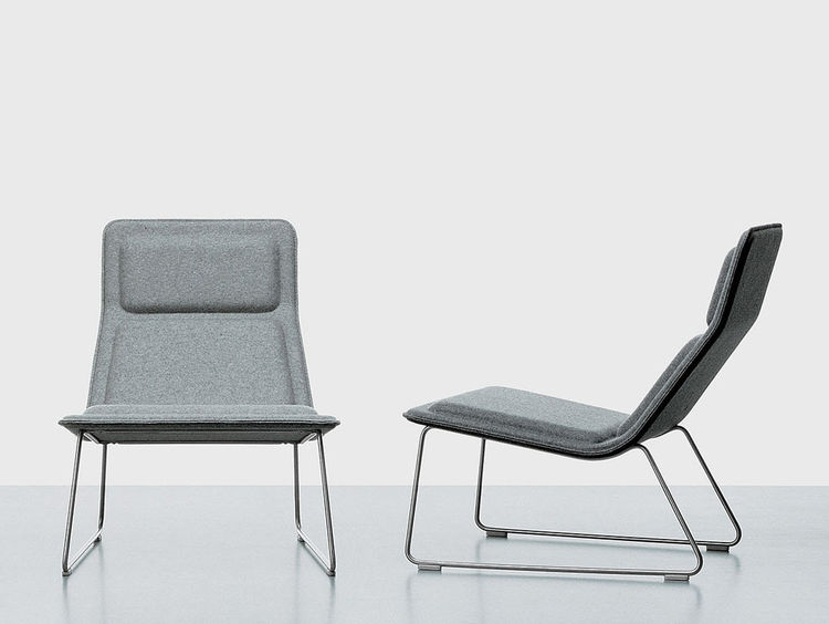 Low Pad Chair by Or Morrison