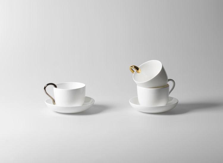 Mine cup and saucer set by Anna Kraitz