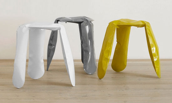 Plopp stool by Oskar Zieta for HAY