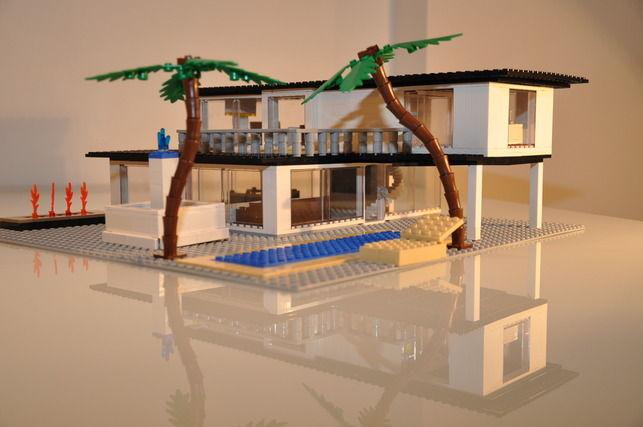 A Beach House by Rick Viton
