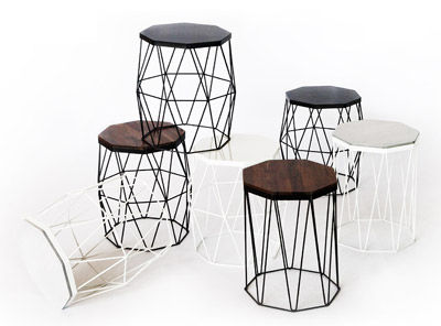 Miti stool by THINKK Studio