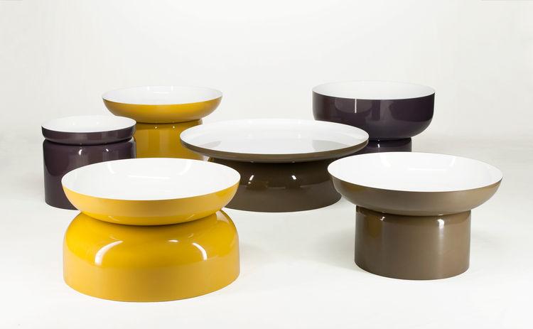 Pluvial tables by Federico Churba