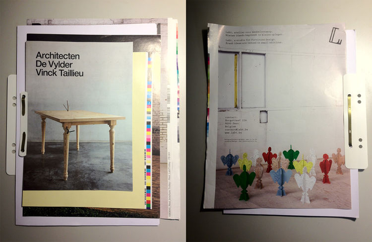 Jan & Randoald pastiche brochure