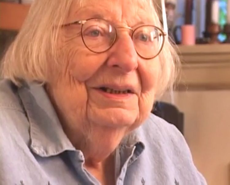 Urban writer and author Jane Jacobs
