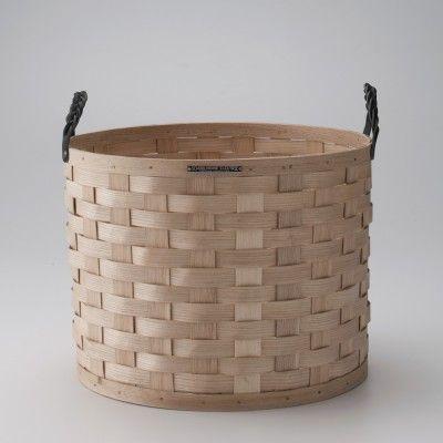 Appalachian white ash basket by Schoolhouse Electric