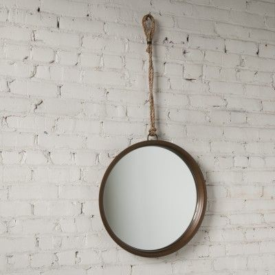 Brass Higgins Mirror by Schoolhouse Electric