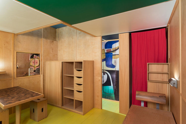 Le Corbusier Cabanon 1952 at Art Basel