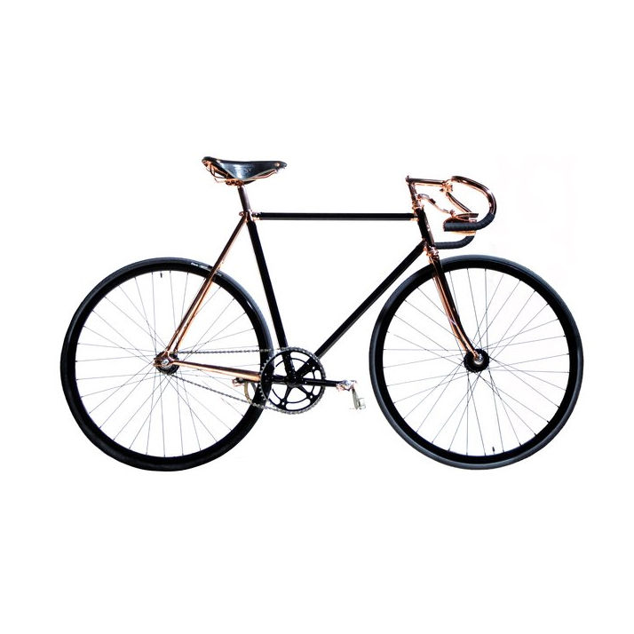 Bespoke Madison Street Bicycle by Detroit Bicycle Company