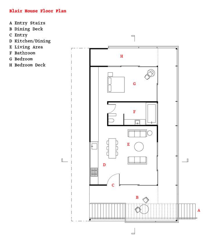 Modern Malibu canyon house floor plans