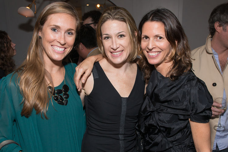 Dwell and DDG event 345 Meatpacking Alex Polier, Laura Beck, Lindsey Adleman