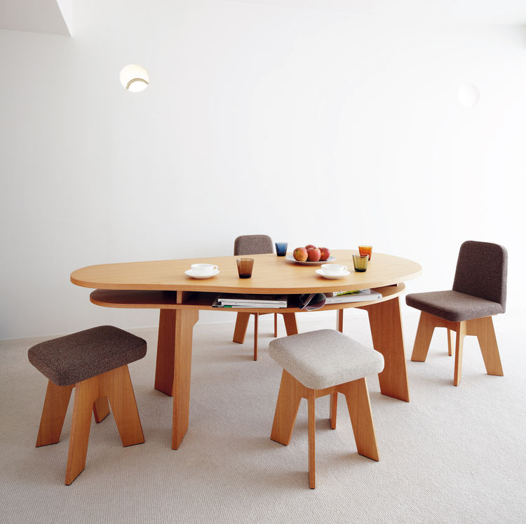 Oishi Kitchen Table by Hisae Igarashi of Igarashi Design Studio, 2005.