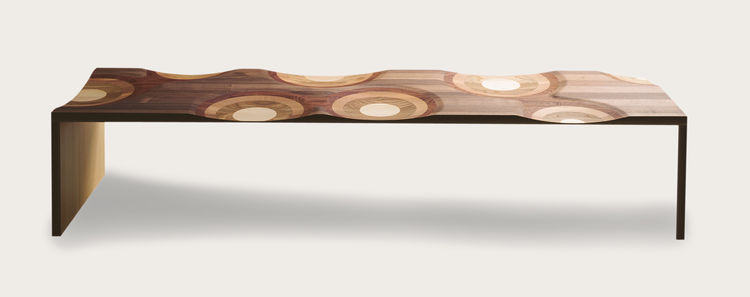 Ripples bench by Toyo Ito of Toto Ito & Associates, Architects.