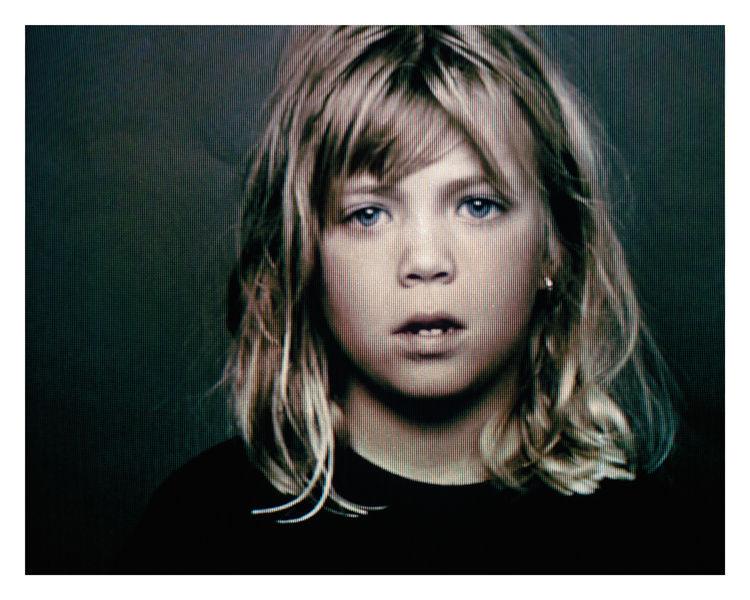 Testify 02, a portrait of a girl