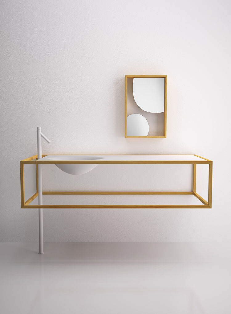 Vanity Sink by Nendo for Bisazza Bagno