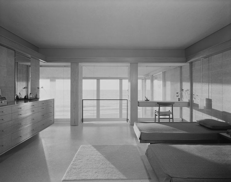 The Deering House in Casey Key, FL by architect Paul Rudolph, 1958
