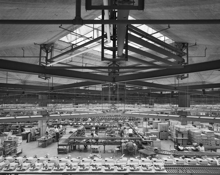 The Olivetti Underwood Factory in Harrisburg, PA by architect Louis Kahn, 1969.