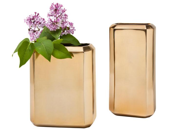 Nate Berkus for Target brass vases