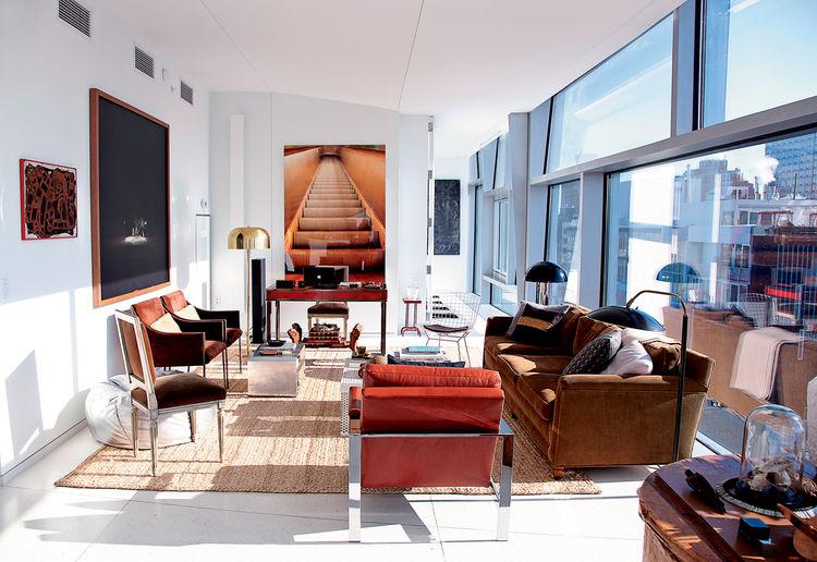 Nate Berkus The Things that Matter living room