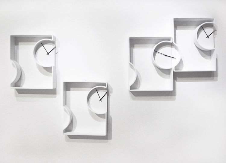 Wall Clocks by Nendo for Bisazza Bagno