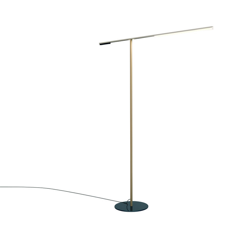Channel floor lamp by Rich, Brilliant, Willing