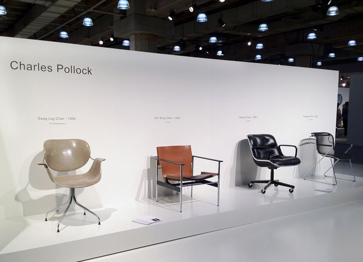 Charles Pollack chairs at ICFF 2012