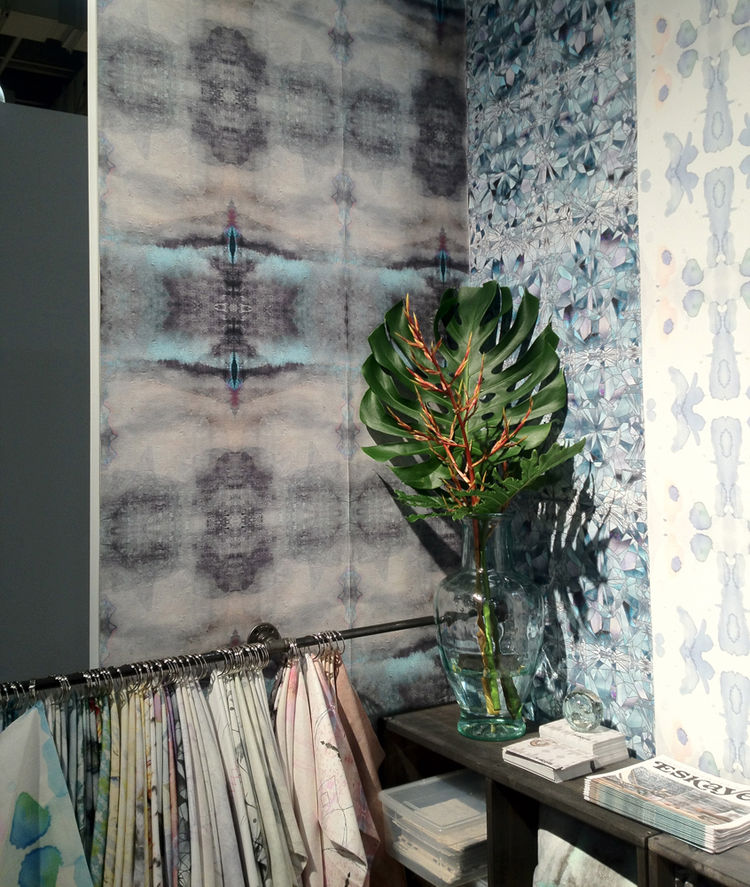 Eskayel Wallpaper at ICFF 2012