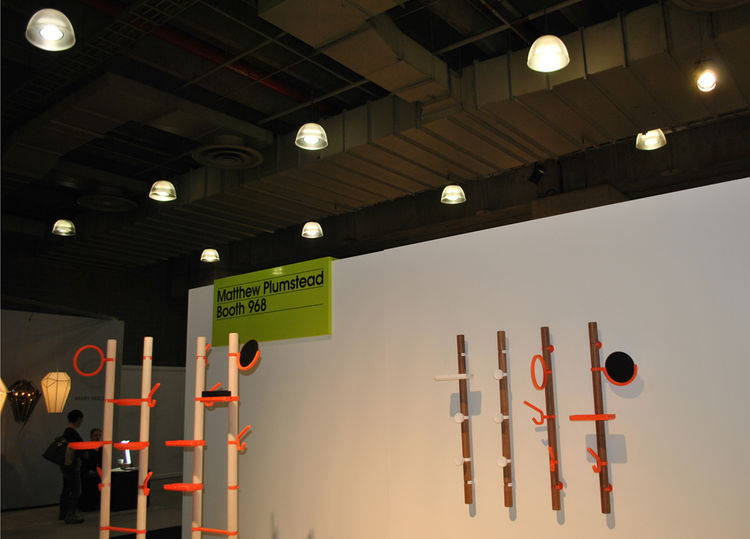 Clip Tree Valet by Matthew Plumstead at ICFF 2012