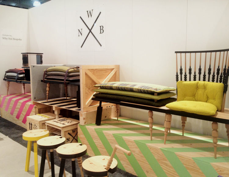 Why Not Bespoke Furniture at ICFF 2012