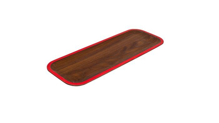Wooden tray designed by David Rasmussen