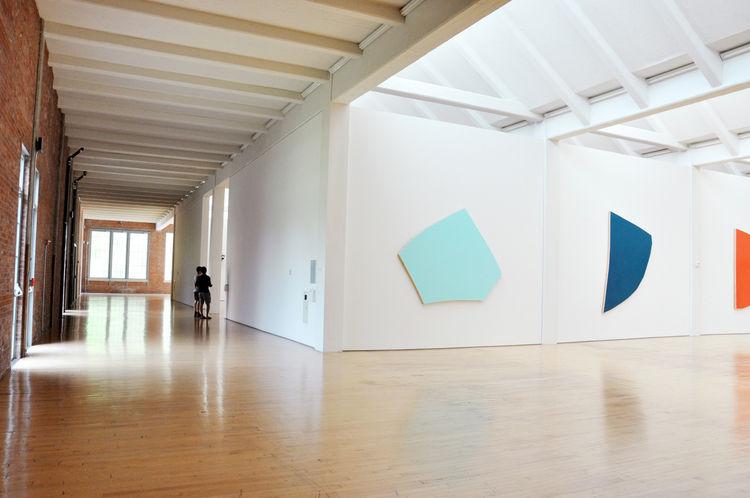 Interior of Dia:Beacon contemporary art museum